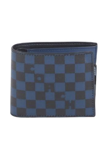Coach blue Coach Checkered 6749 3 In 1 Wallet In True Blue Multi AD4A1AC97DADB4GS_1