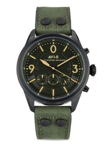 Lancaster Bomber 真皮手錶, 錶esprit手錶專櫃類, 飾品配件