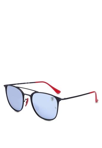 76def7d076 Ray-Ban black Ray-Ban Scuderia Ferrari Collection RB3601M Sunglasses  FC373GLBD39B14GS 1