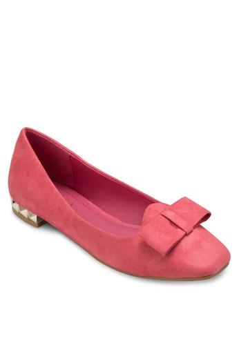 蝴蝶結方esprit服飾頭娃娃鞋, 女鞋, 鞋