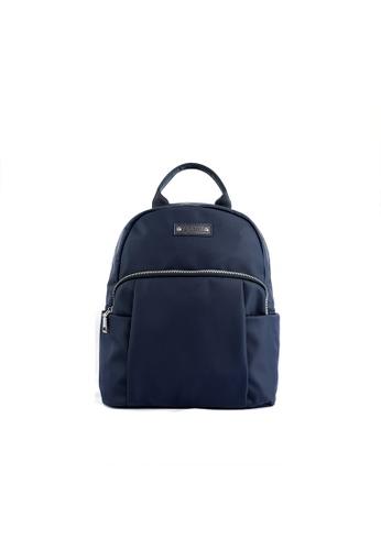 RENOMA Paris blue Renoma Ladies Nylon Backpack 1905085-01 62256ACD0196F5GS_1