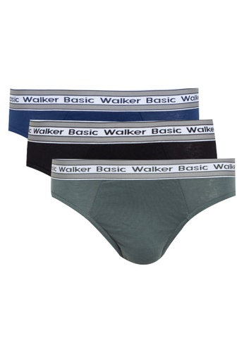 Walker Underwear multi 3 In 1 Hipster Brief DBCD5US9EF6547GS_1