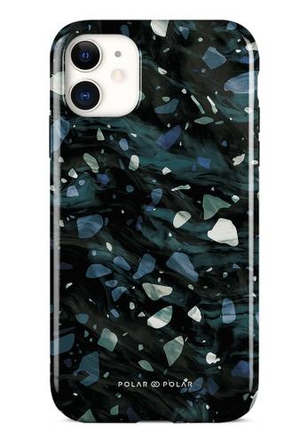 Polar Polar grey Nordic Terrazzo Gem Dual-Layer Tough Case Glossy For iPhone 11 E2031ACBA7E0D8GS_1