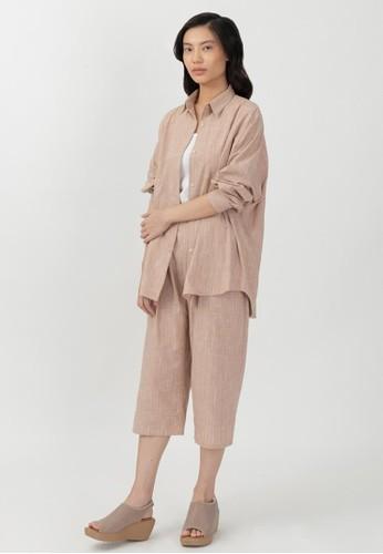 Point One SandStone Set - Anneliste Shirt & Lynae Pants 3CA3AAA57B9757GS_1