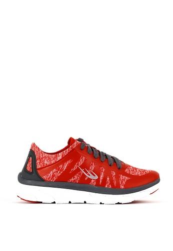 World Balance red Air Wave L Running Shoes E7B6FSHFC9C3DAGS_1