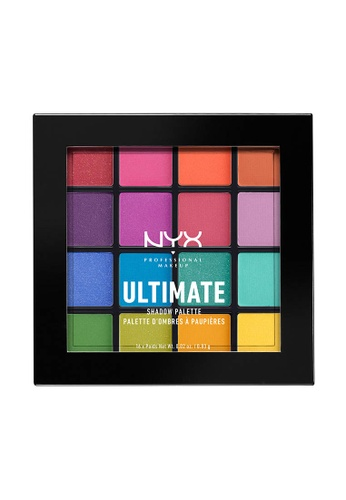 NYX Professional Makeup multi NYX Professional Makeup Ultimate Shadow Palette - BRIGHTS 65A86BE8CE4FF8GS_1