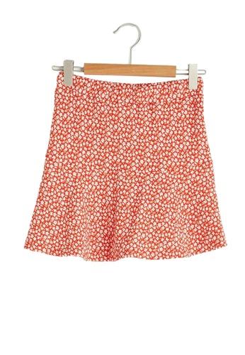 LC Waikiki red Flared Skirt CA1DEKA0F14160GS_1