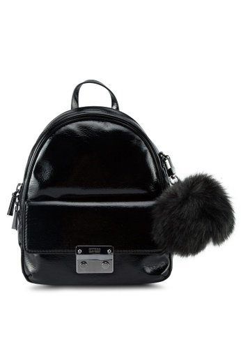 Guess black Varsity Pop Small Backpack 94D7CACF83954AGS_1