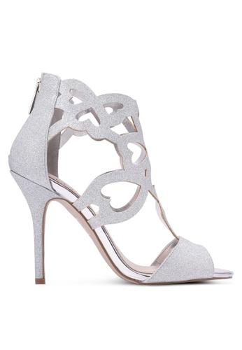 Miss KG silver Florence Glitter Heels MI302SH0RTBLMY_1
