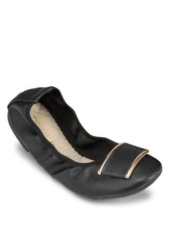Genesis 金飾可折疊平esprit香港門市底鞋, 女鞋, 芭蕾平底鞋