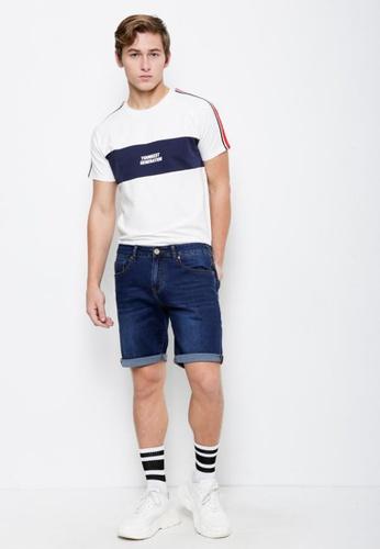 Hi Style blue Denim Bermuda Shorts DE334AADCA258AGS_1