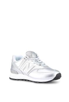 a6f784f453fc New Balance 574 Glitter Punk Shoes S  149.00. Sizes 5 5.5 7 7.5