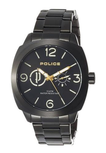 Police black Police Jam Tangan Pria - Black - Stainless Steel -  14717JSB 02MA PO406AC0VUTIID 1 a0854184b8