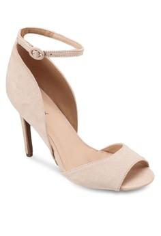 Ankle Wrap Sandal Heel