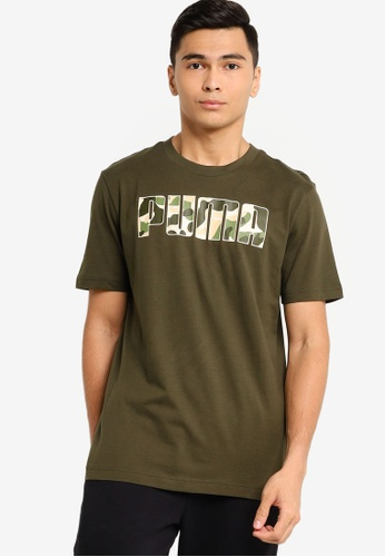 puma green Puma Sportstyle Core Rebel Camo Fill Tee 1CD92AAD11945CGS_1
