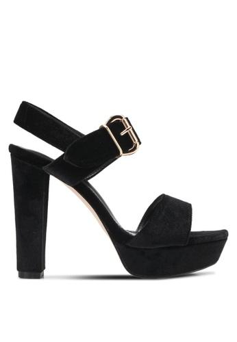 Something Borrowed black Peeptoe Platform Chunky Heel 2854ESHC6D3C79GS_1