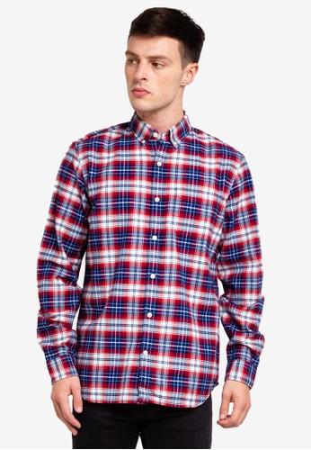 GAP red Oxford Shirt C5513AAE3DE832GS_1