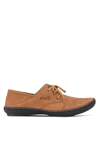 Louis Cuppers brown Smart Casual Shoes LO977SH67AVSMY_1