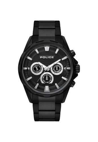Police black Police Winsted 47mm - Black Case & Bracelet (PL15369JBB/02M) 0BCC9AC1E5EFD7GS_1