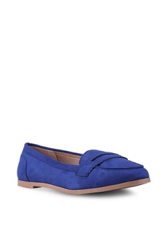 dd23f2f4ffa Dorothy Perkins Lacey Blue Loafers S  49.90. Sizes 3 4 5 6 7