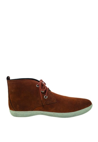 Cardam's Lifestyle brown Jorge Shoes CA993SH85OKSPH_1