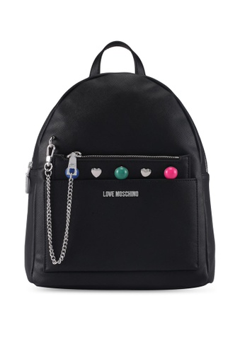 Love Moschino black LOVE MOSCHINO Backpack LO478AC0SXXAMY_1