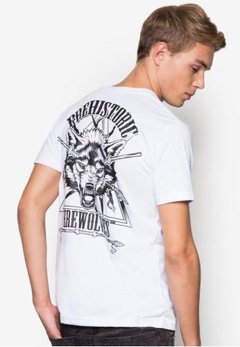 狼人設計TEE, 服飾, esprit台北門市T恤