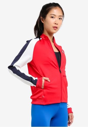Odlo red Midlayer Full Zip Berit Jacket OD608AA0S14EMY_1