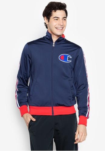 Champion blue Track Jacket 4E89EAACB2ABE7GS_1