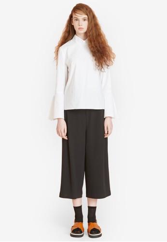 LOesprit服飾VE 寬長袖上衣, 服飾, 上衣