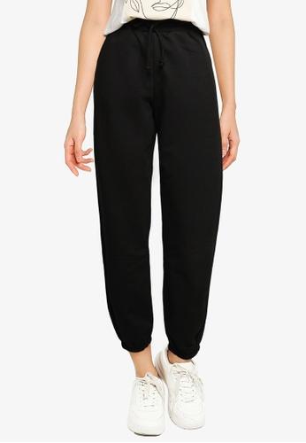 Vero Moda black Octavia High Waist Sweatpants 9352DAA2DE36DEGS_1