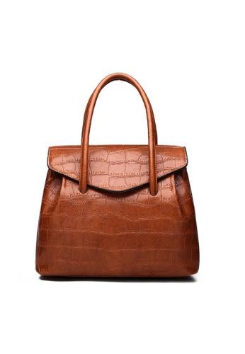 Lara brown Women's Brown Hand Bag FC77FAC0AB435CGS_1