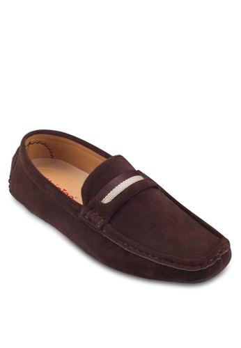 經esprit暢貨中心典方頭麂皮船型鞋, 鞋, 船型鞋
