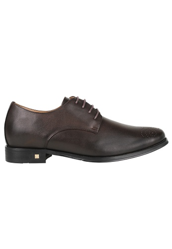 Tomaz brown Tomaz F176 Lace Up Formal (Coffee) 99DDESHCB61A49GS_1