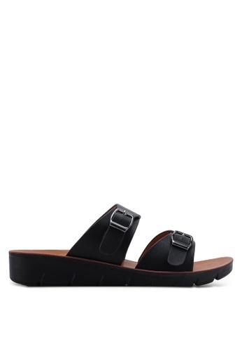 NOVENI 黑色 Casual Sandals B4E39SH303B089GS_1