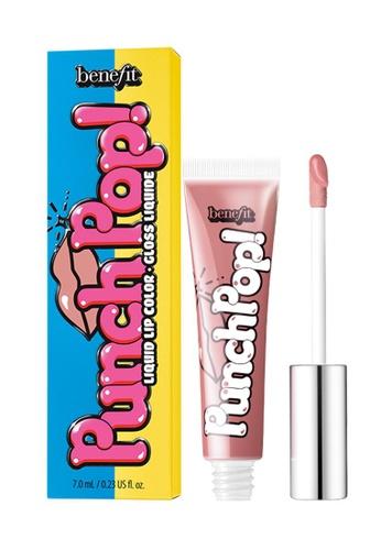 Benefit pink Benefit Punch Pop! Liquid Lip Colour in Sugar Cookie FE725BEAB5DD29GS_1