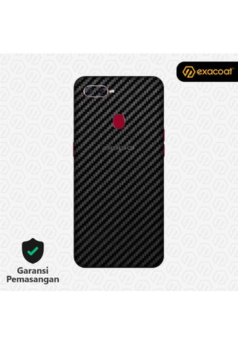 Exacoat Oppo F9 3M Skins Carbon Fiber Black - Cut Only 248BAESDFD70A2GS_1