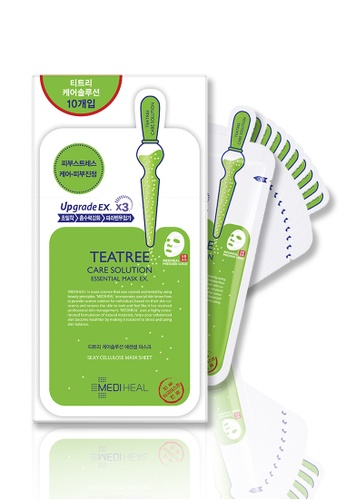 Mediheal green Mediheal Teatree Care Solution Essential Mask Box 6DEBFBE754122FGS_1