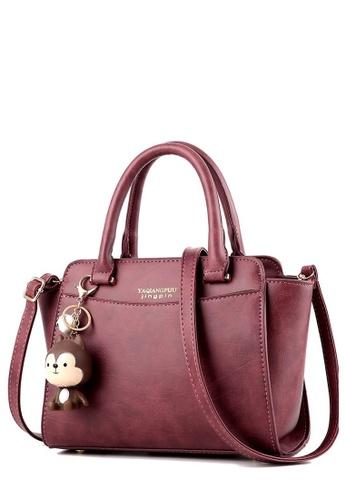7a7a85f4a TCWK pink Ladies Handbag TC258AC02YRLMY 1