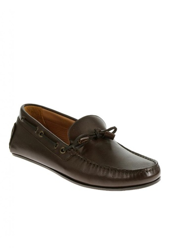 Sebago brown Tirso Tie Driving Shoes SE328SH0J4YFPH_1