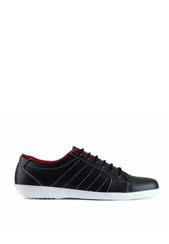Sogno black Sneaker Shoes GF.5601 EA543SHD314356GS_1