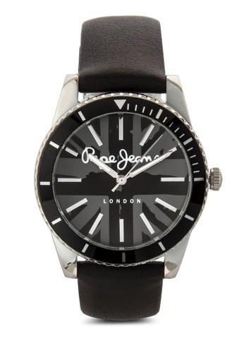R2351102507 Carrie 印花皮革圓錶, esprit tw錶類, 飾品配件