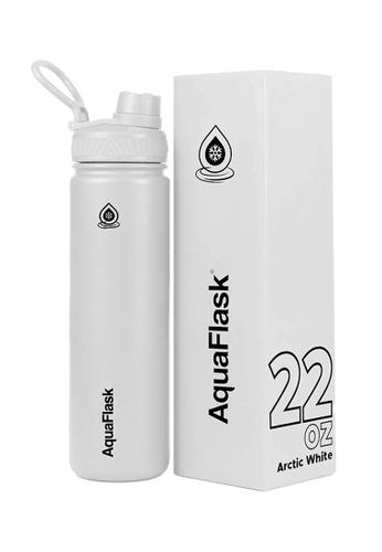 Aquaflask white 22oz Wide Mouth Water Bottle 78E82AC7B74DE7GS_1