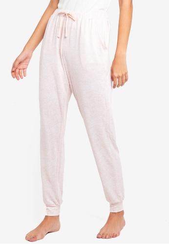 Dorothy Perkins pink Blush Loungewear Jogger Pants 87983AA331D141GS_1