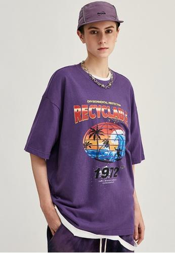 Twenty Eight Shoes Trend Printed Short T-shirt 1240S20 7B3F5AAB0EC27AGS_1