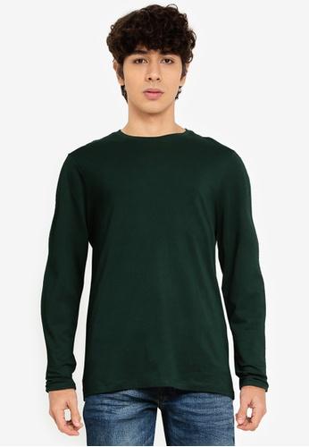 OVS green Long Sleeve T-Shirt A6E7FAA7CDE736GS_1