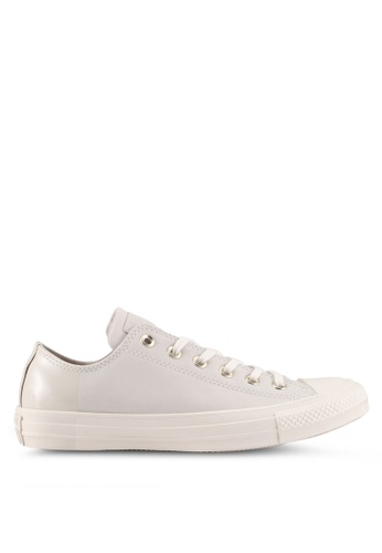 Converse beige Chuck Taylor All Star Ox Sneakers E93F4SH58B97AAGS_1