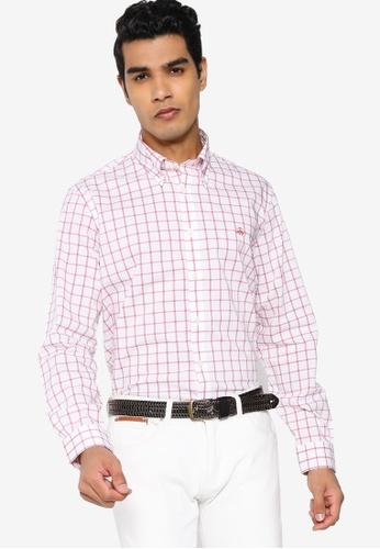 Brooks Brothers white Mens Woven Shirt D045FAA7560EC4GS_1
