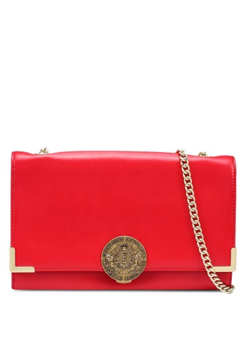 Guess red Belle Flap Sling Bag E5663ACF9142F9GS_1