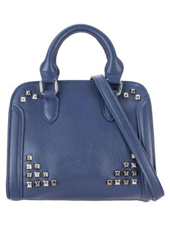 鉚釘迷你手提包、 包、 包SomethingBorrowed鉚釘迷你手提包最新折價